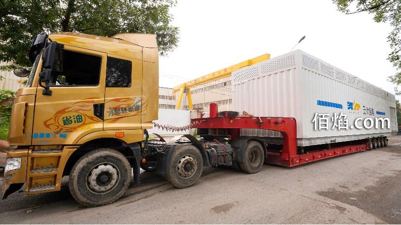 您订购的集装箱式LNG加气站发货啦!