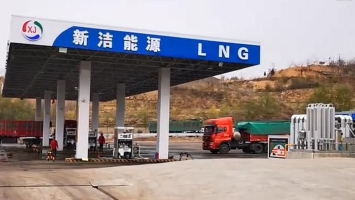 佰焰科技LNG加气站整站建设案例