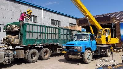 赤峰客户采购的LNG加气站成套设备已经发货啦!