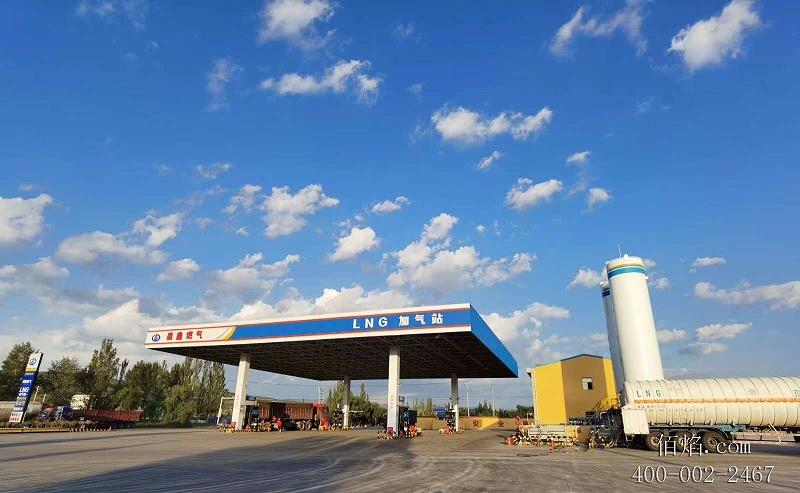 天津佰焰LNG加气站