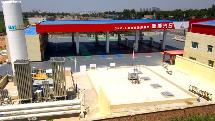 佰焰L-CNG加气站质量可靠 运行稳定