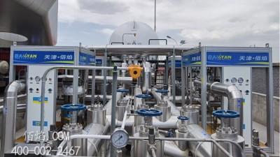 天津佰焰成功改造升级山西运营8年LNG加气站