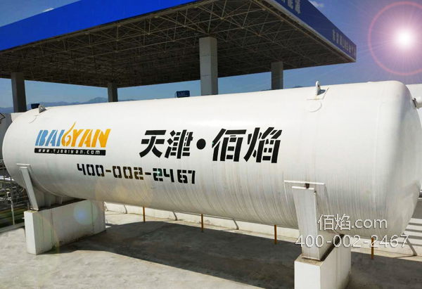 天津佰焰LNG储罐