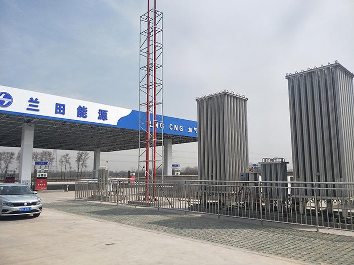吕梁兰田CNG站升级为L-CNG加气站