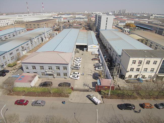 佰焰科技公司厂房俯瞰