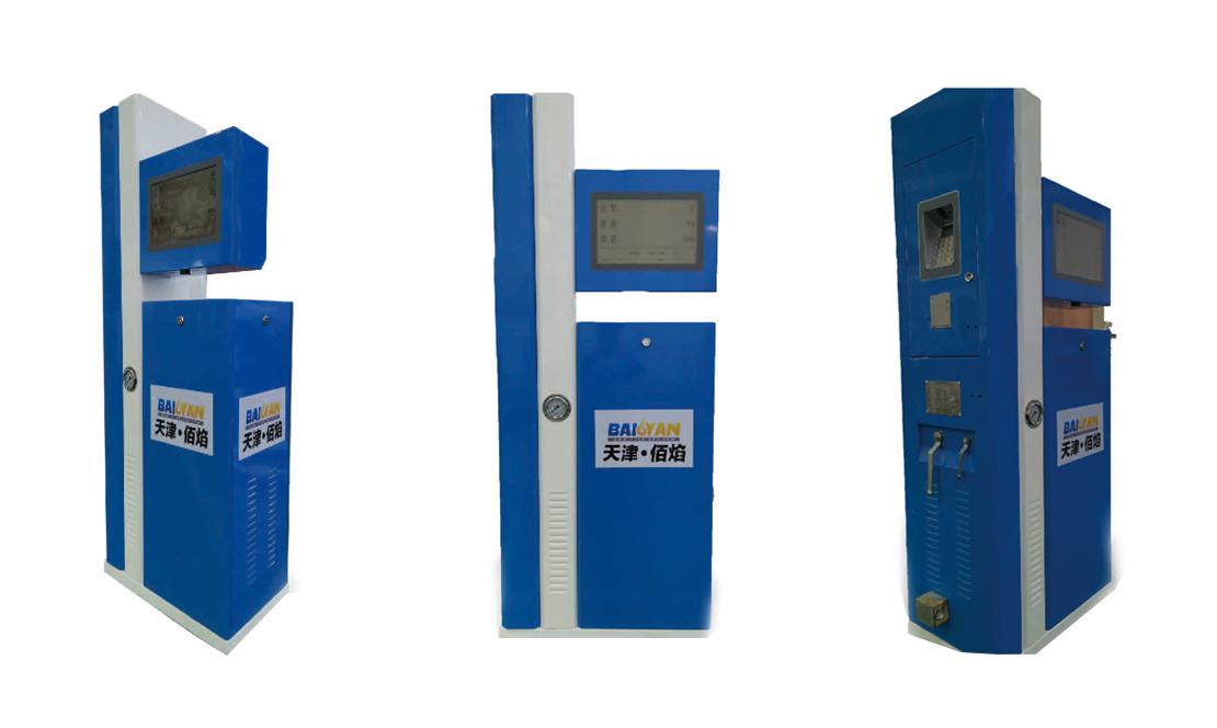 CNG加-卸气柱