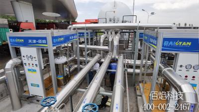 佰焰科技LNG加气站整站调试运行
